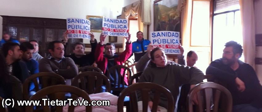 Recortes en Sanidad - 2013-02-28 Pleno Extraordinario sobre el Centro de Salud de Arenas de San Pedro