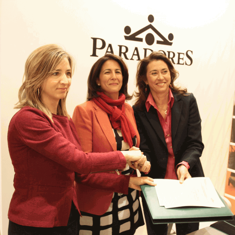 Paradores y JCyL - Firma Convenio promoción turística - TiétarTeVe