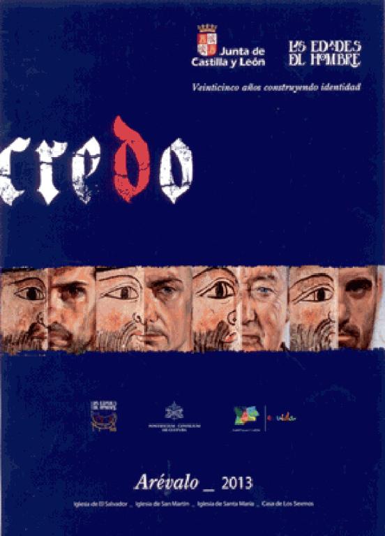 """Cartel """"Credo"""" de Las Edades del Hombre en Arévalo - TiétarTeVe"""