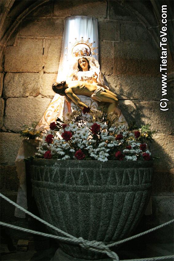 Virgen de las Angustias - Cuevas del Valle – TiétarTeVe