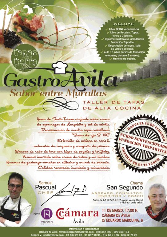 """GastroÁvila """"Sabor entre Murallas"""" - Taller de Tapas de Alta Cocina - Ávila - TiétarTeVe"""