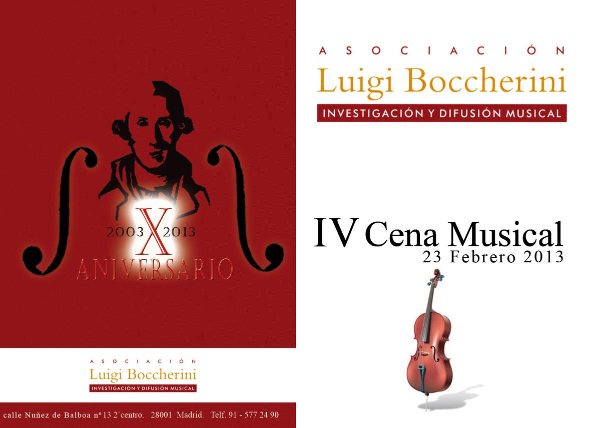 IV Cena Musical Luigi Boccherini - TiétarTeVe