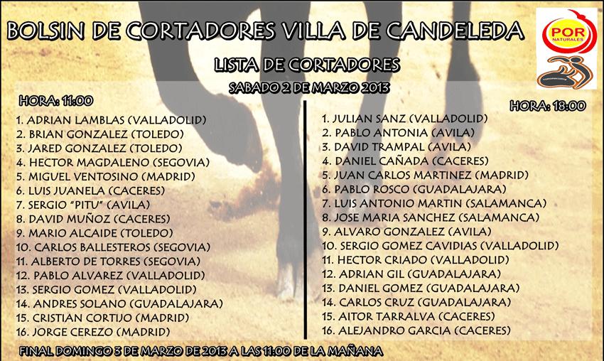 Toros - I Bolsín de Cortadores en Candeleda - TiétarTeVe