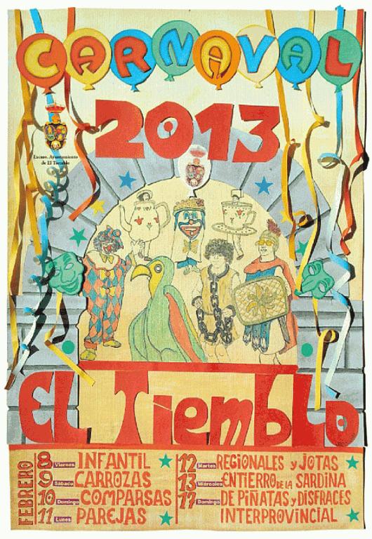 Carnaval 2013 en El Tiemblo - Valle del Tiétar - Gredos - TiétarTeVe