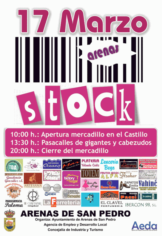 Feria del Stock - Arenas Stock en Arenas de San Pedro el 17 de marzo de 2013 - TiétarTeVe