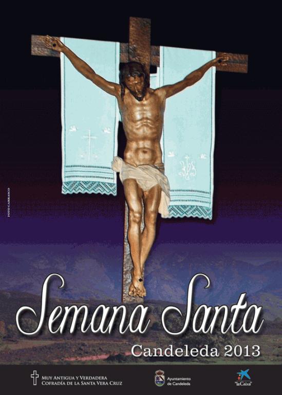 Cartel Semana Santa de Candeleda 2013 - TiétarTeVe