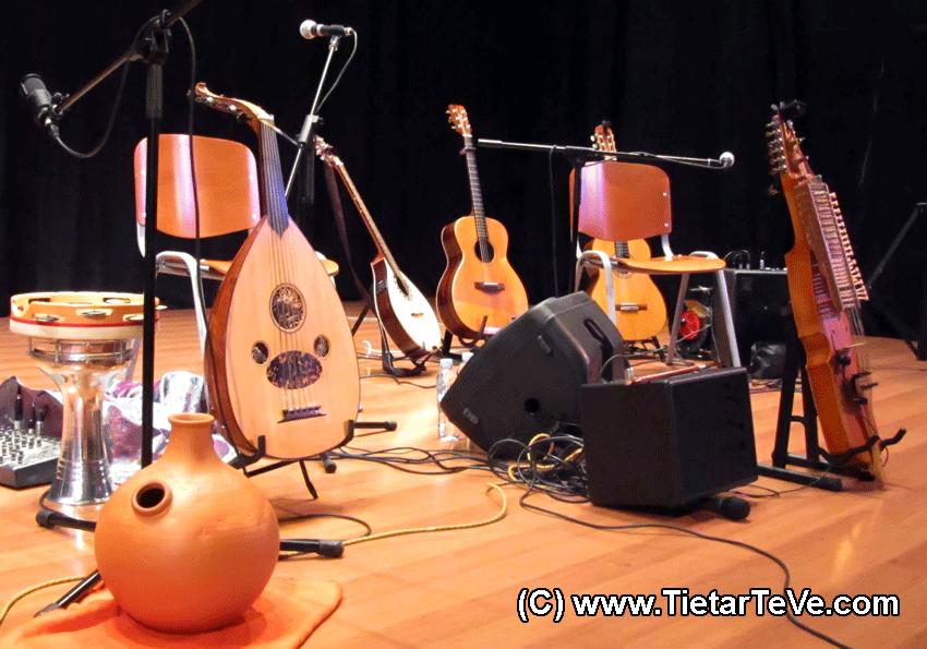 Premio Pep Sempere - Instrumentos de Ana Alcaide en Arenas de San Pedro - TiétarTeVe