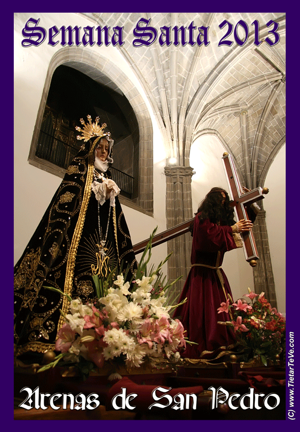 Cartel Semana Santa en Arenas de San Pedro 2013 - TiétarTeVe