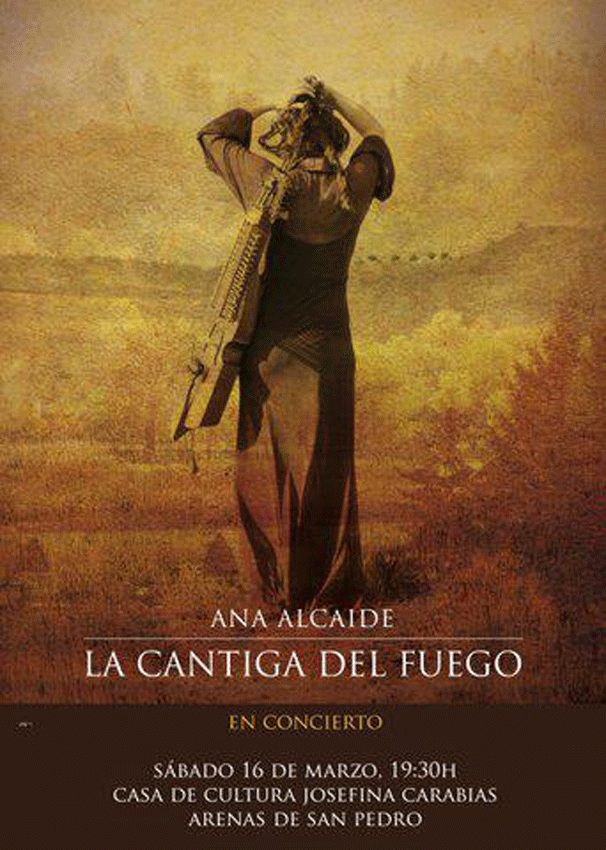 Premio Pep Sempere - Concierto Ana Alcaide en Arenas de San Pedro - TiétarTeVe