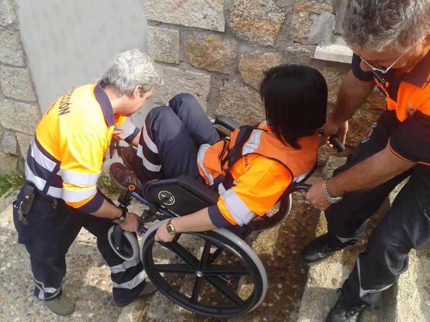 Curso Protección Civil con Personas con Discapacidad - Pedro Bernardo - TiétarTeVe