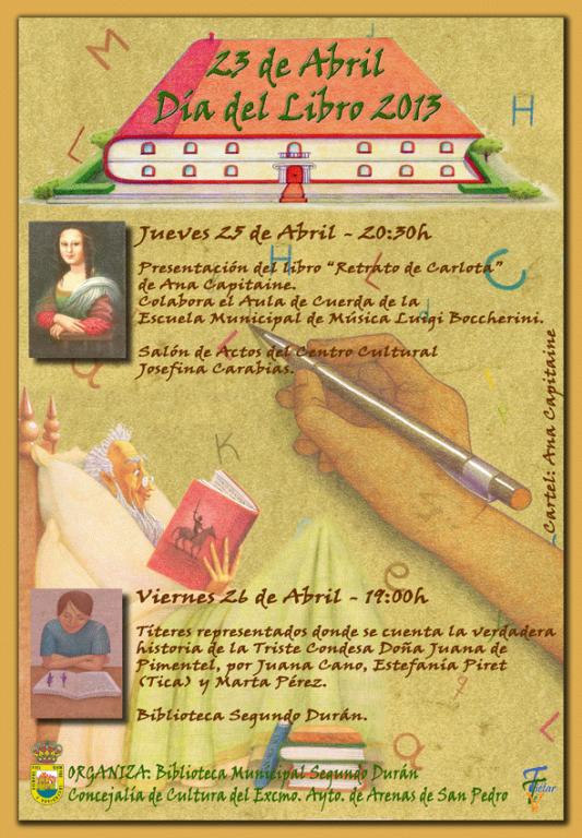 Día del Libro 2013 en Arenas de San Pedro - TiétarTeVe