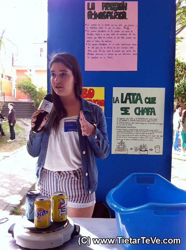 IX Feria de la Ciencia del IES Juana de Pimentel - Arenas de San Pedro - TiétarTeVe