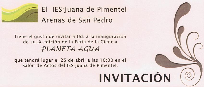 IX Feria de la Ciencia IES Juana de Pimentel de Arenas de San Pedro - TiétarTeVe
