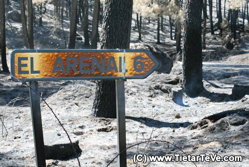 Incendio en la Sierra de Gredos del 2009 - TiétarTeVe