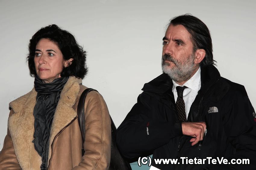 El Arquitecto Fernando Espinosa de los Monteros y la paisajista Mónica Luengo - Palacio de la Mosquera - TiétarTeVe