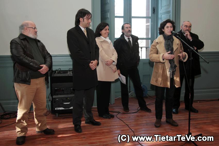 Inauguración de las Obras del Palacio de la Mosquera de Arenas de San Pedro - TiétarTeVe