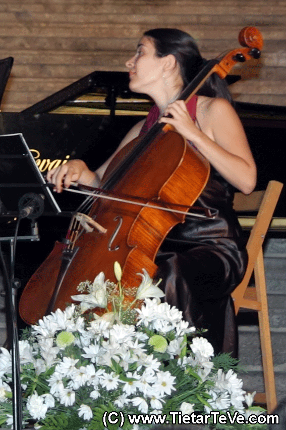 Iris Azquinezer- VI Festival Luigi Boccherini - Arenas de San Pedro - TiétarTeVe