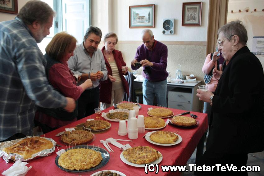 Jurado del Concurso de Tortillas - Palacio de la Mosquera de Arenas de San Pedro - TiétarTeVe