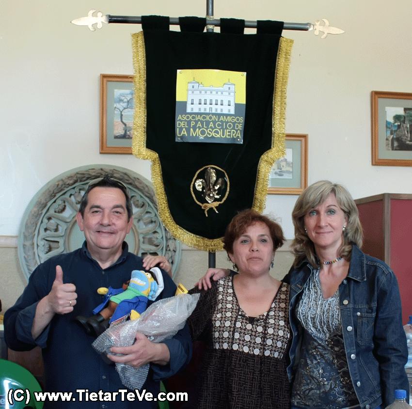 Ganadores del concurso de tortillas - Palacio de la Mosquera de Arenas de San Pedro - TiétarTeVe