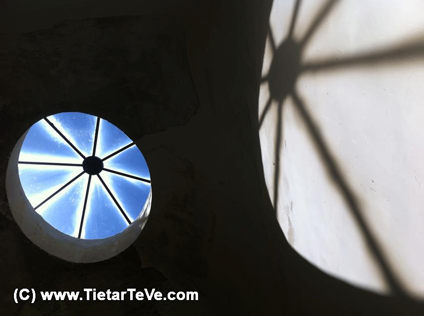 Claraboya del Palacio de la Mosquera - TiétarTeVe