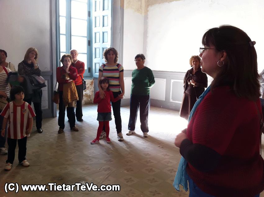 Visita guiada al Palacio de la Mosquera - TiétarTeVe