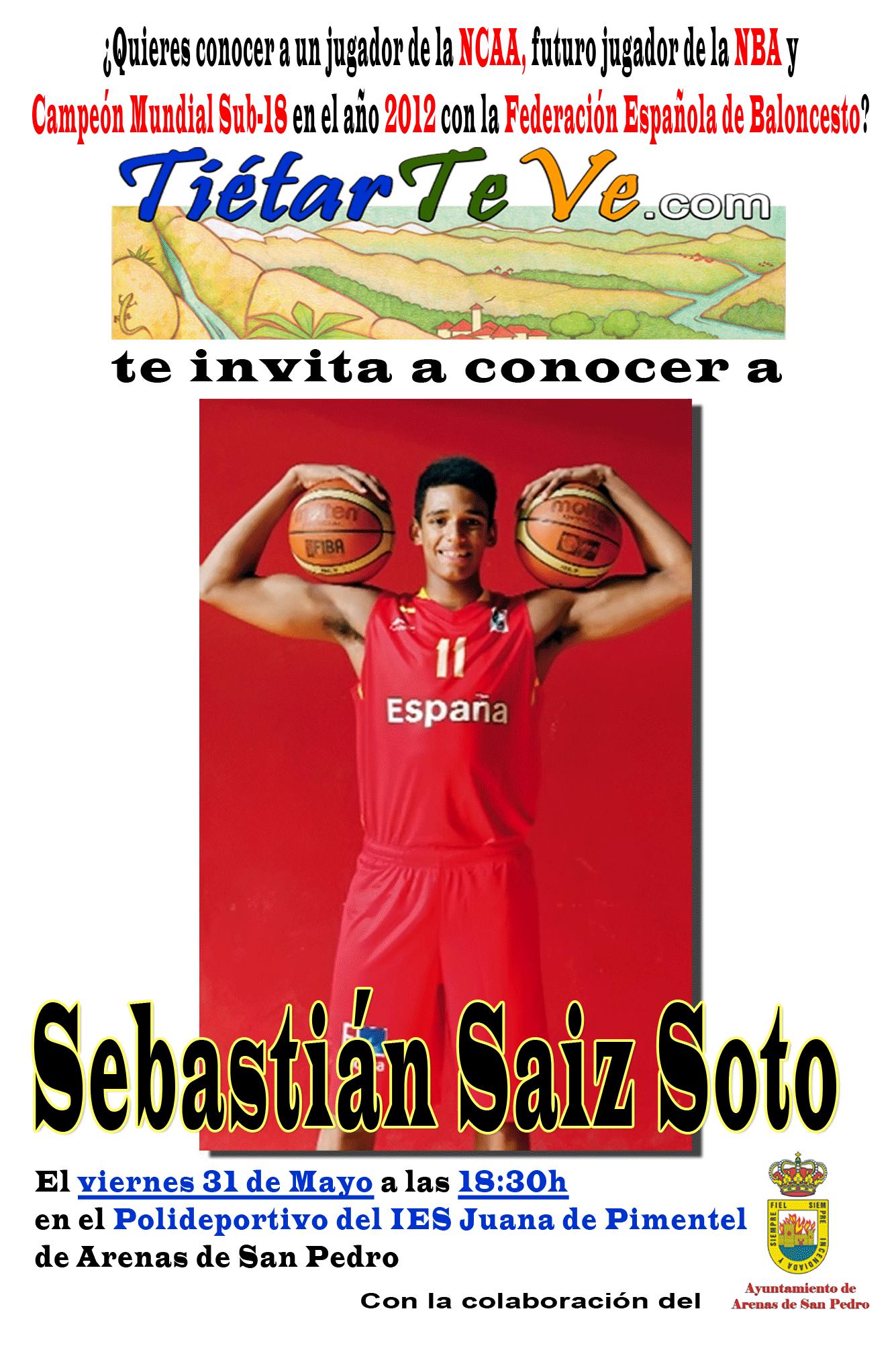 Sebastián Saiz Soto en Arenas de San Pedro - TiétarTeVe