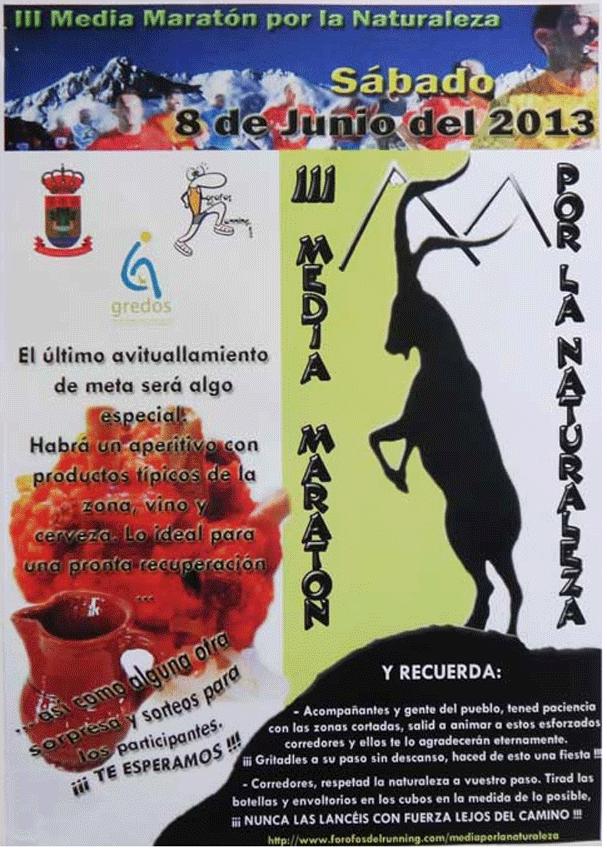III Media Maratón en la Naturaleza - Gredos - TiétarTeVe