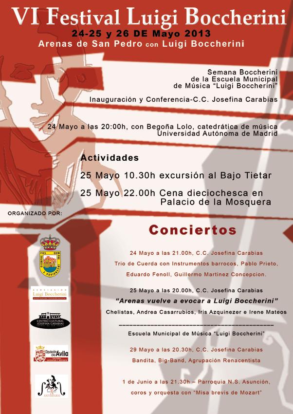 VI Festival Luigi Boccherini de Arenas de San Pedro - TiétarTeVe