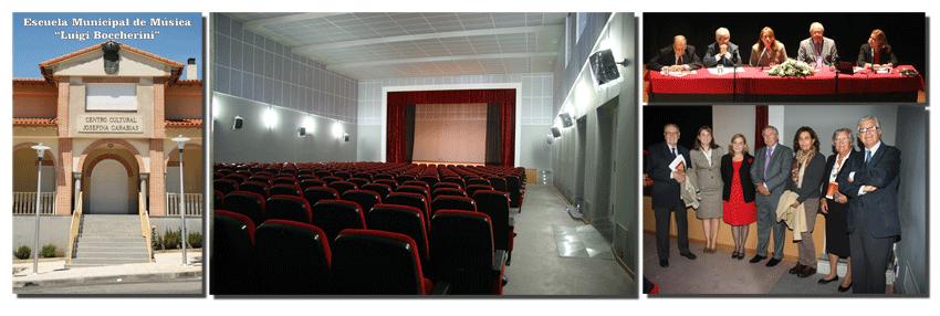 Centro Cultural Josefina Carabias - Arenas de San Pedro - Festival Luigi Boccherini 2012 - TiétarTeVe