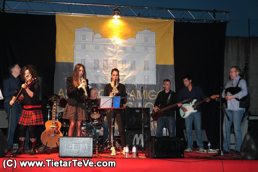 Ensemble Anxamás en concierto - Palacio de la Mosquera - Arenas de San Pedro - TiétarTeVe