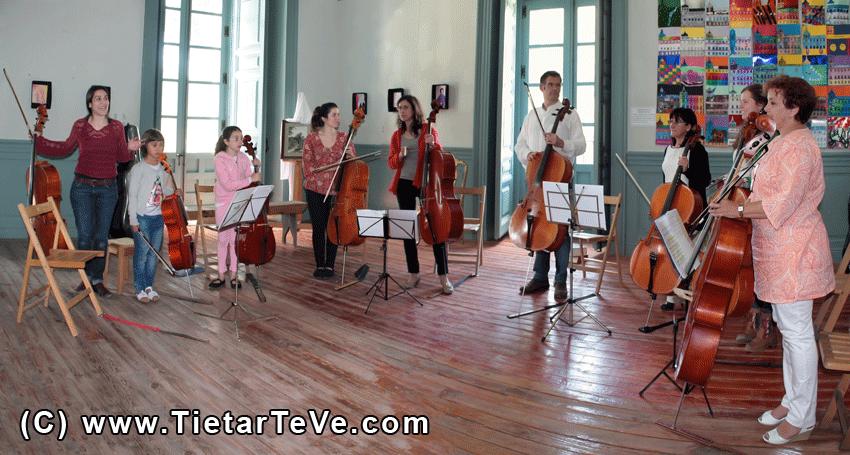 Encuentros Pedagógicos en torno al Chelo en Arenas de San Pedro - TiétarTeVe