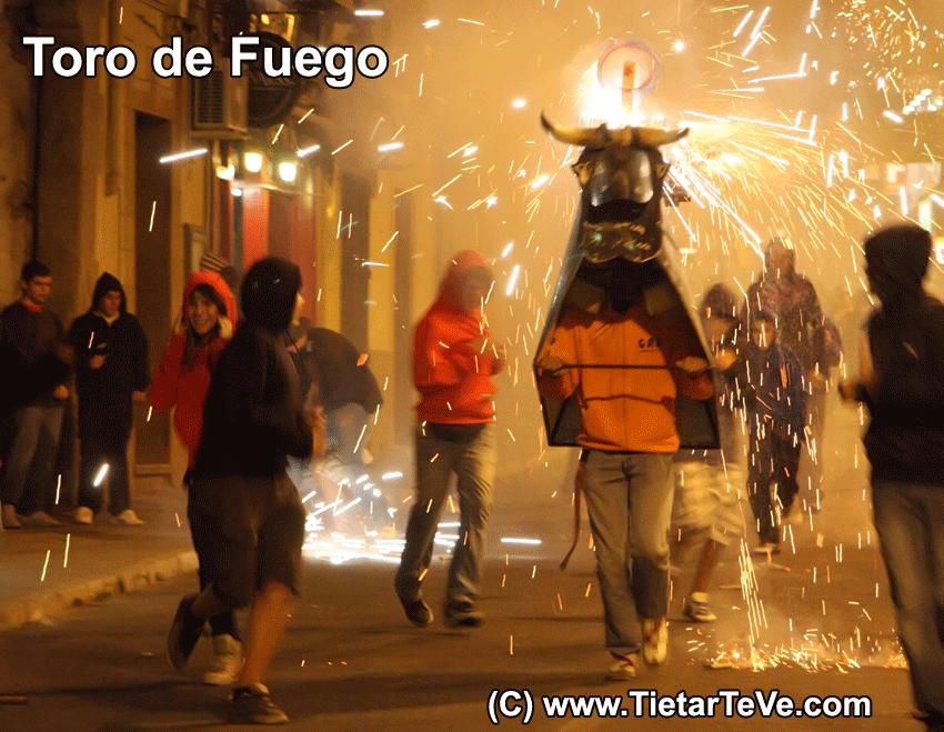 Toro de Fuego - Arenas de San Pedro - TiétarTeVe