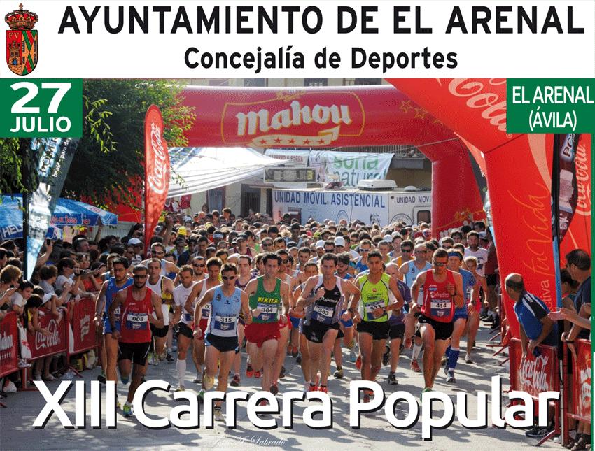 XIII Carrera Popular de El Arenal - TiétarTeVe