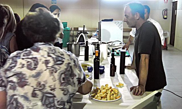 Cata de Aceites de Oliva Virgen Extra - ONG Gloria Olivae - Ávila - TiétarTeVe