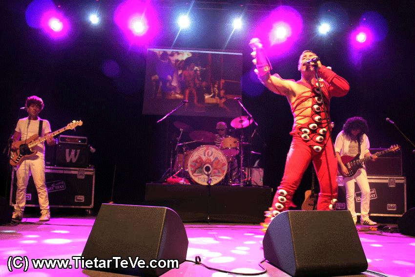 Freddie Mercury y Queen en Arenas de San Pedro - TiétarTeVe
