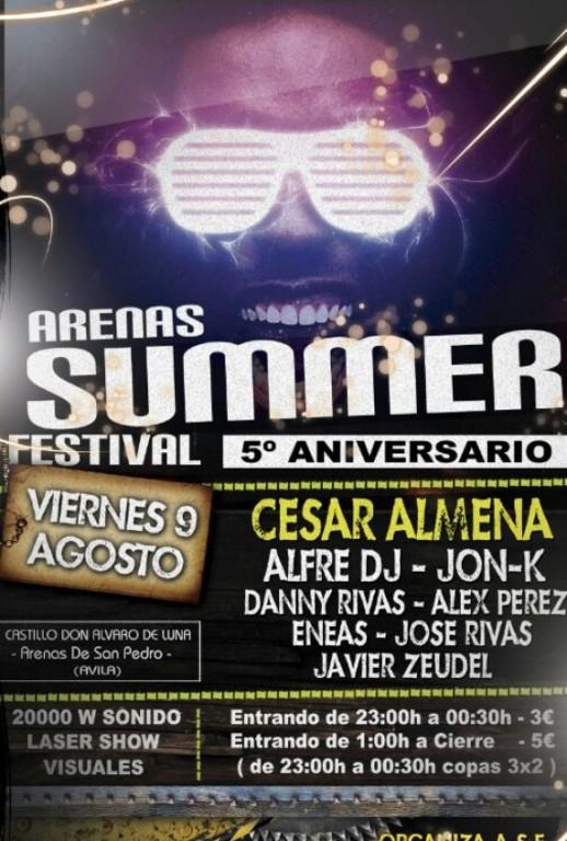 Arenas Summer Festival 2013 en Arenas de San Pedro - TiétarTeVe