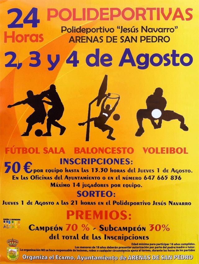 24 horas polideportivas de Arenas de San Pedro - TiétarTeVe