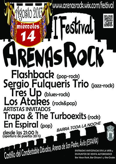 I Festival Arenas Rock - Arenas de San Pedro - TiétarTeVe