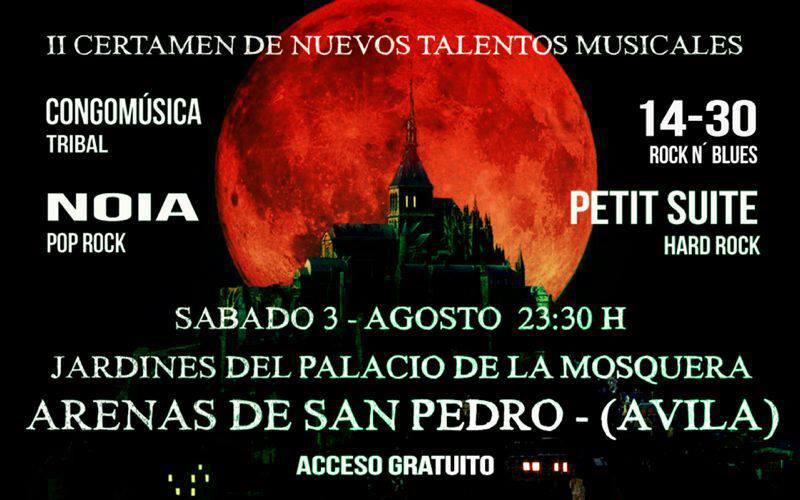 II Certamen Nuevos Talentos Musicales - Arenas de San Pedro - TiétarTeVe