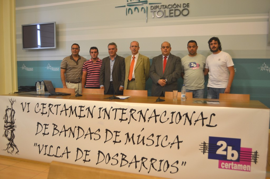Presentación VI Certamen Internacional de Bandas de Música Villa de Dosbarrios - 20 julio 2013 - TiétarTeVe