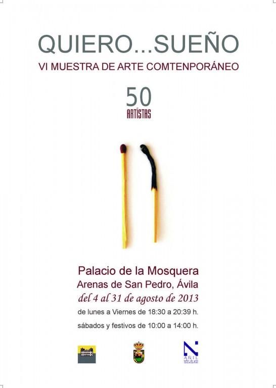 VI Muestra de Arte Contemporáneo de Arenas de San Pedro