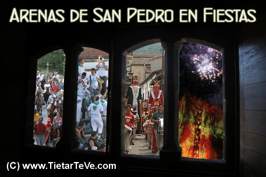 Arenas de San Pedro en Fiestas - TiétarTeVe