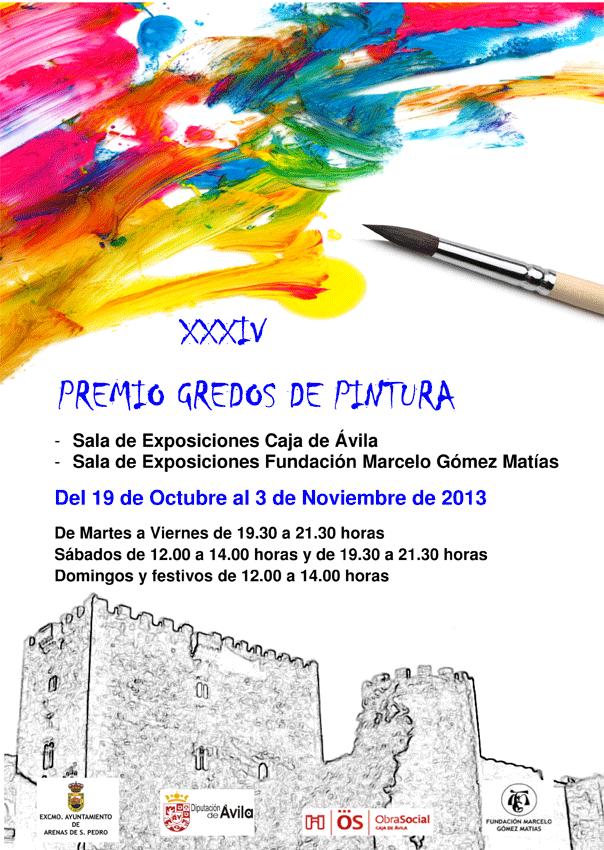 XXXIV Premio Gredos de Pintura de Arenas de San Pedro - TiétarTeVe