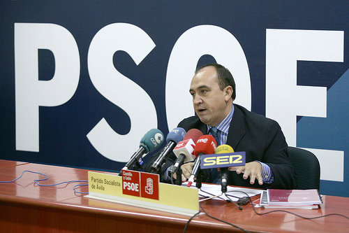 Pedro Muñoz PSOE de Ávila - TiétarTeVe