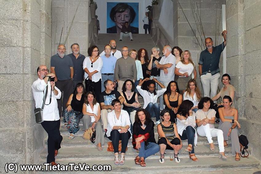 """Exposición de Arte Contemporáneo """"Quiero ... Sueño"""" de Arenas de San Pedro - TiétarTeVe"""
