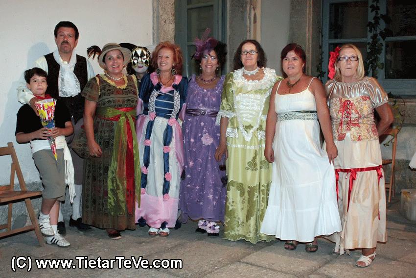 Asociación de Amigos del Palacio de la Mosquera - Desfile de época en Arenas de San Pedro - TiétarTeVe