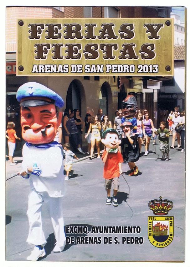 Ferias y Fiestas de Arenas de San Pedro 2013 - TiétarTeVe