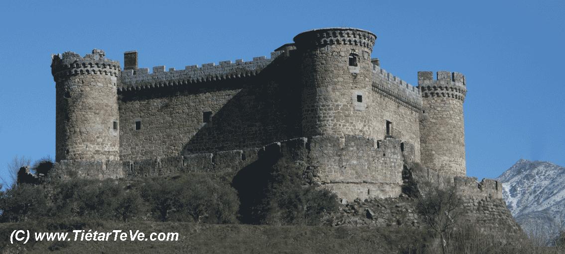 Castillo de los Duques de Alburquerque en Mombeltrán - TiétarTeVe