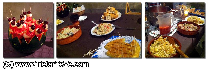 Catering en el II Certamen Nuevos Creadores de Arenas de San Pedro - TiétarTeVe