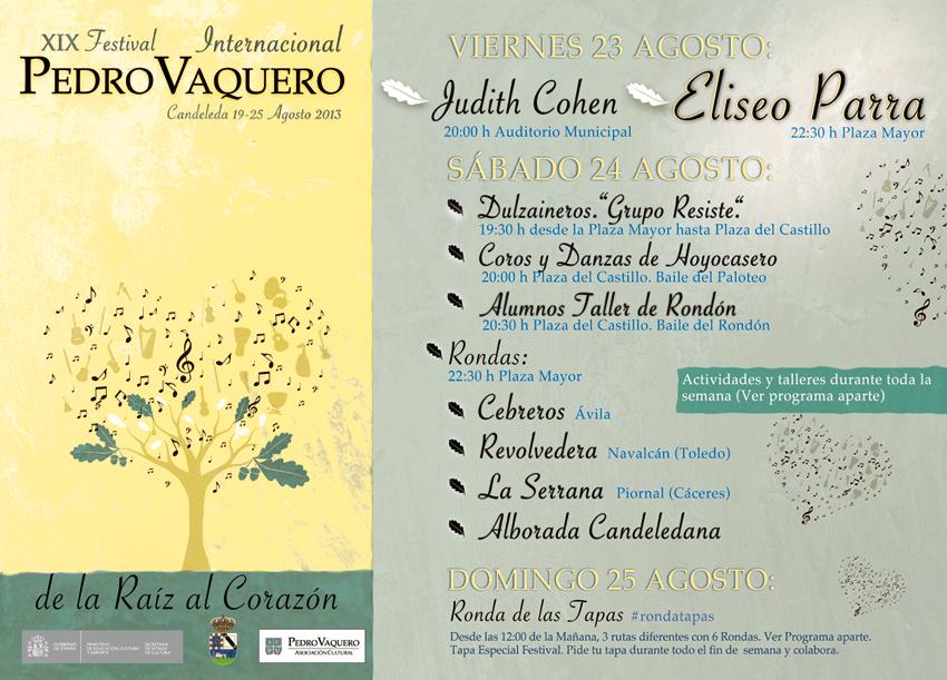 Festival Pedro Vaquero de Candeleda - TiétarTeVe